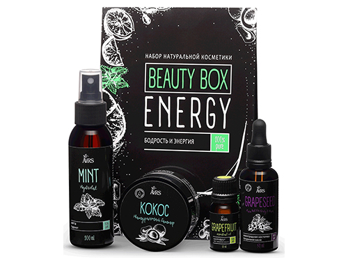 ARS. Base to Beauty. Набор Beauty box Energy (Бодрость и энергия)
