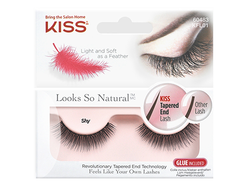 Kiss. Looks so Natural. Накладные ресницы Eyelashes Shy KFL01C