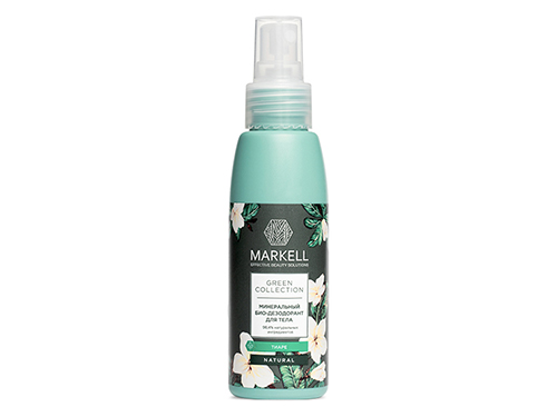 Markell. Green Collection. Био-дезодорант для тела Тиаре минеральный 100 мл